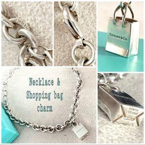 Tiffany & Co. thick round chain rare shopping bag